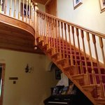 Beautiful Staircase to Bedrooms