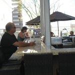 The Breeze outdoor bar