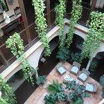 le patio intérieur