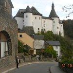 Château face à l'hôtel