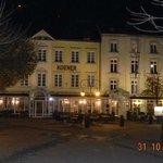 L'hôtel le soir