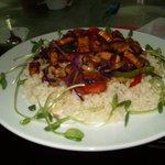tofu stir-fried