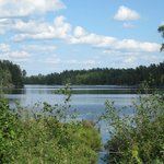 Scenery in Whiteshell Provincial Park