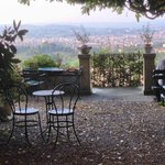 Jardin de repos face à Florence