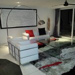 Lounge in 3 bedroom apt
