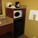 Microondas e frigobar