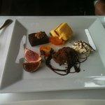 Le dessert, une sélection du buffet