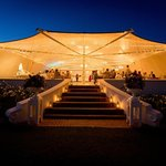The marquee by night