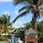 Entrance to Esmeralda Resort
