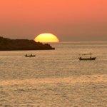 Stunning Cavtat sunset