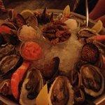 свежие и вкусные морепродукты