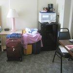 Small Room - has fridge, microwave, coffee pot