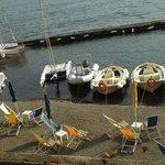 Hoteleigener Bootsanleger, Strand, Bademöglichkeit