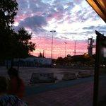 Il quartiere di Triana al tramonto