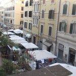 Farmer's Market from hotel window