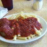 Ziti with Meatballs