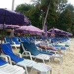 Paradise Beach 100 baht to enter