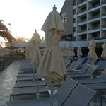 Vista de la terraza del hotel