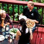 TONY RIGATONIS Rustic Patio Dining