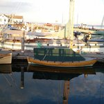 Boats in Port Townsend's Point Hudson marina