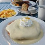 the famous lilikoi pancakes; heaven