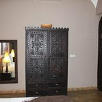 Beautiful armoire in our room.