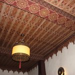 Stunning ceilings around the riad