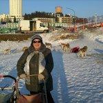 Вид на отель с лыжной трассы