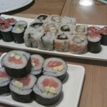 Feast of sushi