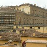 Palazzo Pitti, vista desde la terraza del restaurante