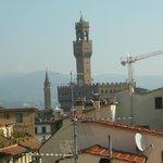 Vista del Palazzo Vecchio desde la terraza