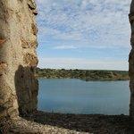 Castillo de Penarroya - view to the lake