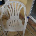 Pas envie de s'assoir sue cette chaise