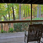 Our view from the back porch/deck