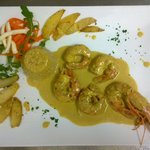 gamberoni al curry