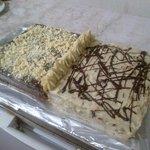 pan di spagna bicolore ciocco bianco e fondente
