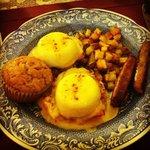 Best eggs benedict ever!
