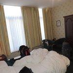 La habitación, tamaño justo