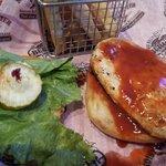 Buffalo Chicken Sandwich & super soggy bun