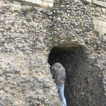 Canterbury Castle April 2012 Small Entrance to Castle