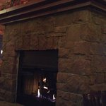 Cool fireplace