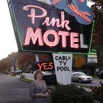 two fairies at the Pink Motel