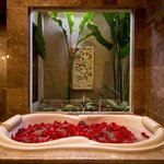 Double Bath with Garden View