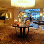 Lobby autumn display