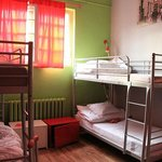 4 bed room dorm - Rome, each dorm has name such as Sydney, New York,,,,