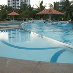 Multilevel Pool Area