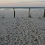 entrance to the ocean