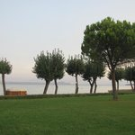 The Garda Lake from the Village