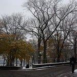 28 ottobre 2013. Prima neve dell'anno a Quebec