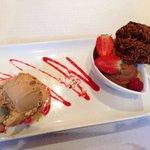 Miam chocolat au dessert :)